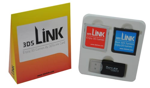3DSLink Card for 3D ROM Gaming on 3DS 2DS