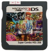 208-in-1 game cartridge